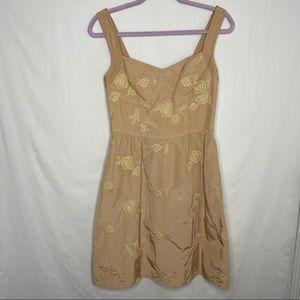 Nanette Lepore corset style sleeveless dress